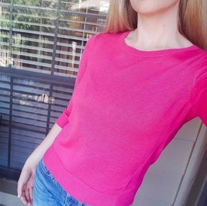 Banana Republic pink light-weight sweater